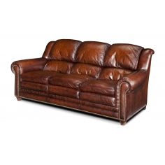 Upholstered Quality Furniture, All Leather Sofa