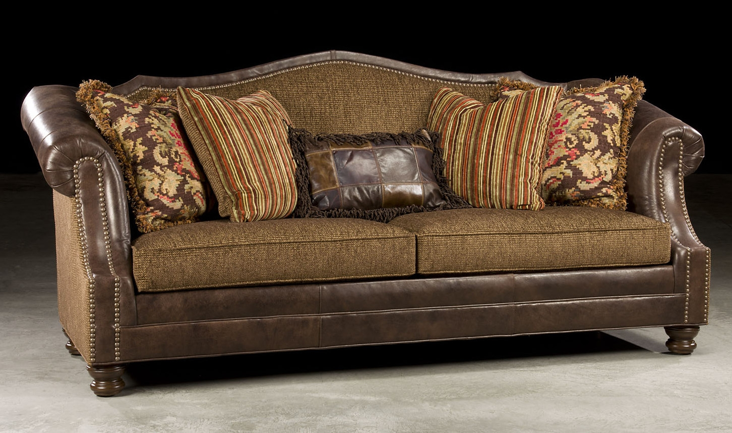 Stylish Fabric Leather Sofa
