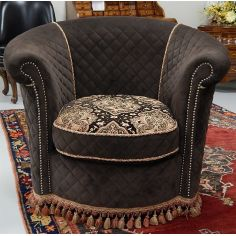 Swivel chair luxury fine home furnishings