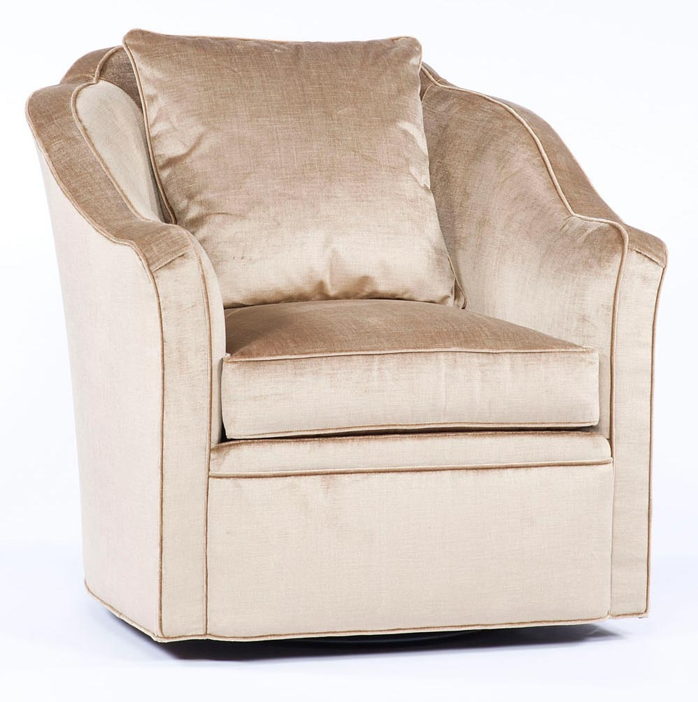 Swivel living room chair sleek and modern 86 - Modern upholstered living room chairs ...