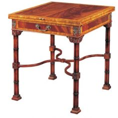 Mahogany Accent/Game Table