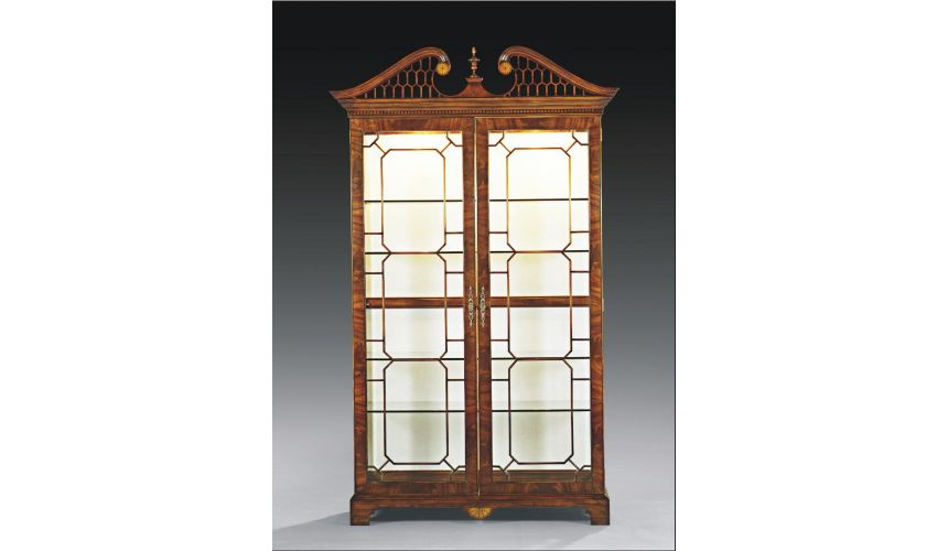 Breakfronts & China Cabinets High End Dining Room Furniture Display Cabinet