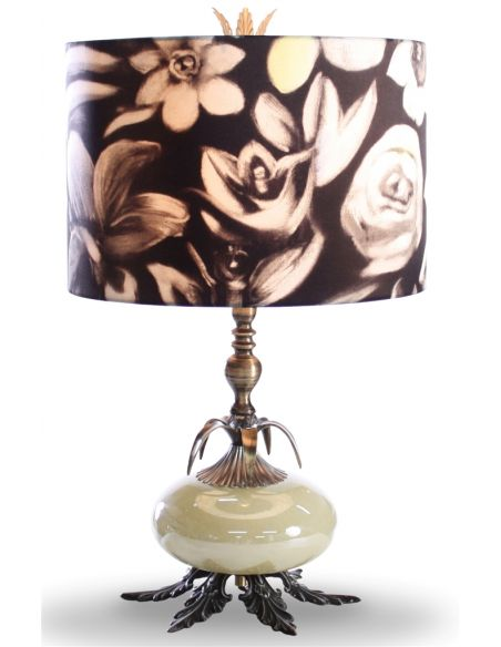 Table Lamps Classic Table Lamp with Charmeuse Shade