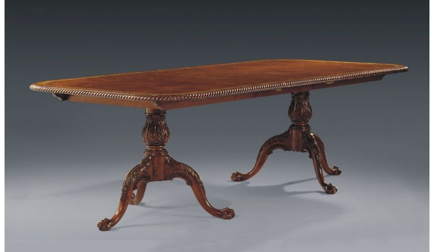 Dining Tables Traditional luxury rope edge dining table 23