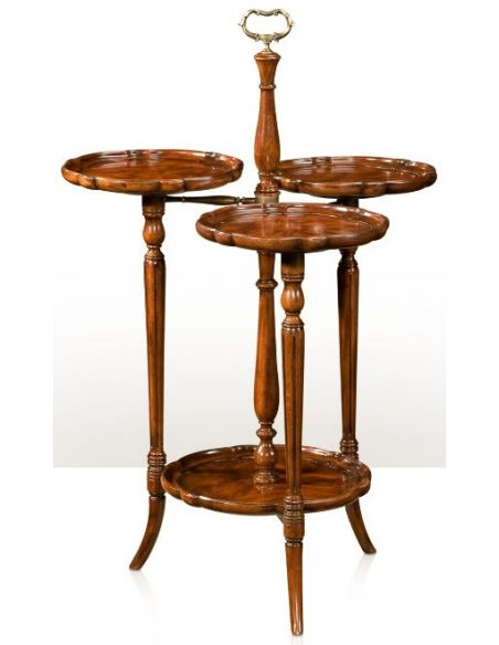 Round & Oval Side Tables Georgian Trio