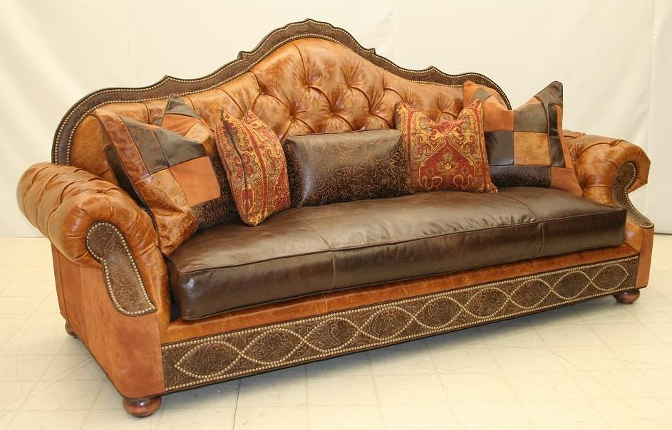 SOFA, COUCH & LOVESEAT Tufted Back Sofa 2845-05