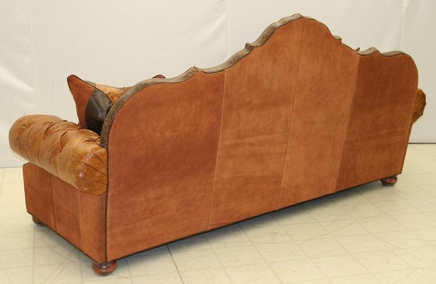 Tufted Back Sofa 2845 05