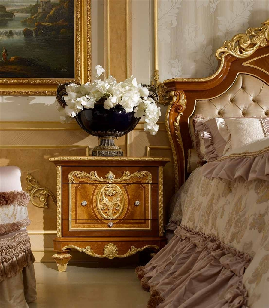 Classic Tufted And Crowned Headboard. From Furniture