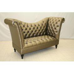Tufted High Back Sofa