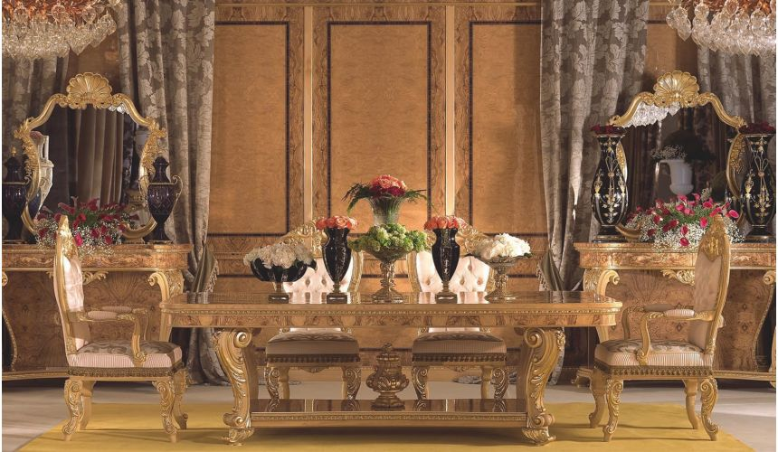 Dining Tables Stunning dinning table from our modern day palace collection