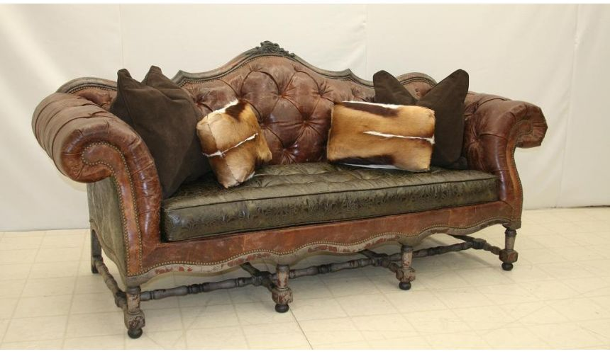 SOFA, COUCH & LOVESEAT Tufted Sofa 6646