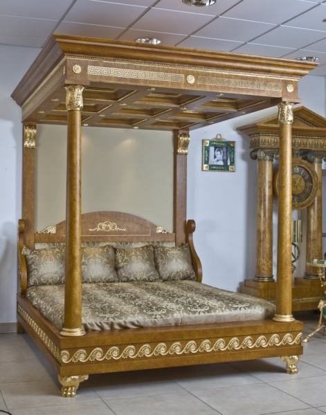 Empire style canopy bed 205 for High end canopy beds
