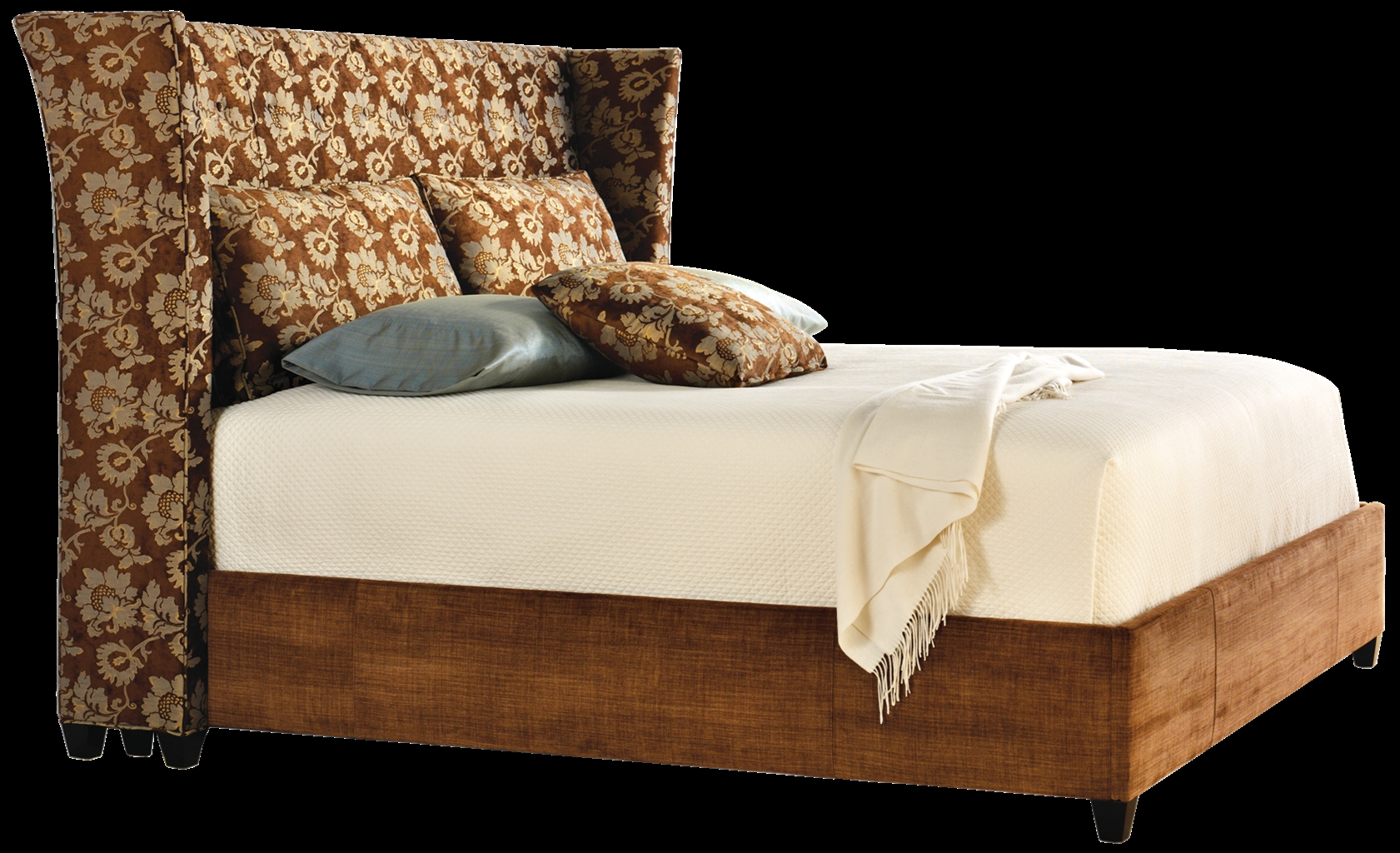 Upholstered Bed American Made Furniture And Furnishings