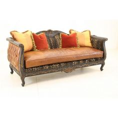 Vanished Panther Hair Hide Sofa