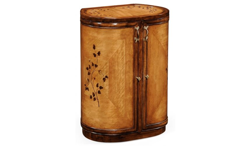 Other Home Accessories Luxury locking jewelry armoire with mirror. Vanity dressing table.