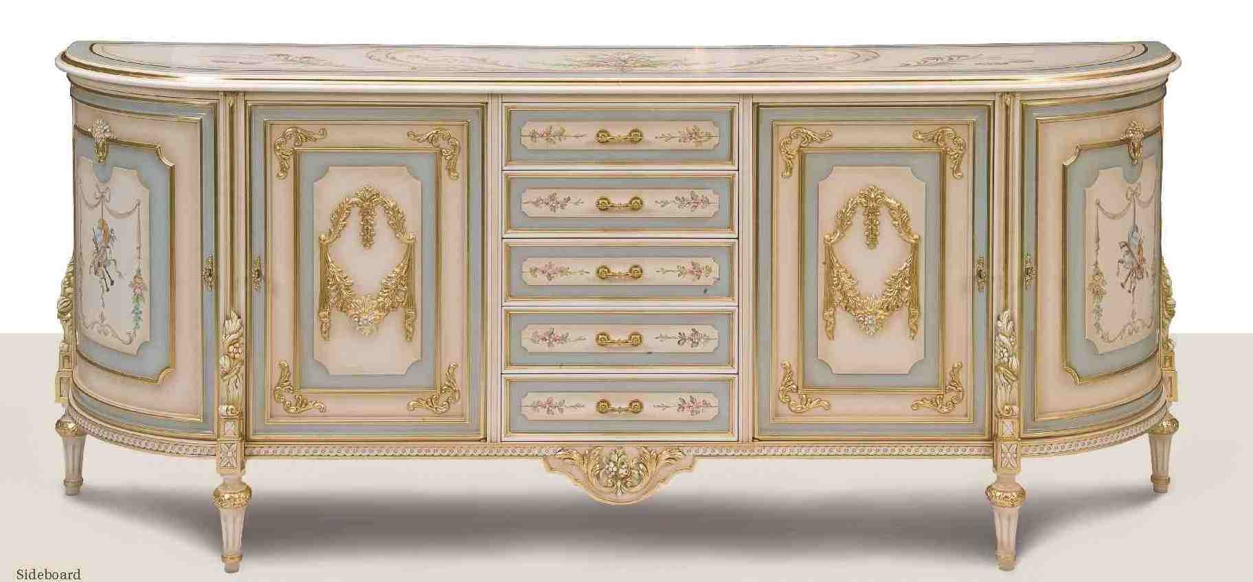 Breakfronts china cabinets 11 best of european made furniture venetian style credenza