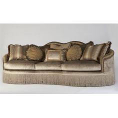 Victorian sofa 2-sofa, chair, leather, fabric
