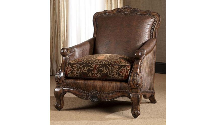 Luxury Leather & Upholstered Furniture 10-8-sofa, chair, leather, fabric