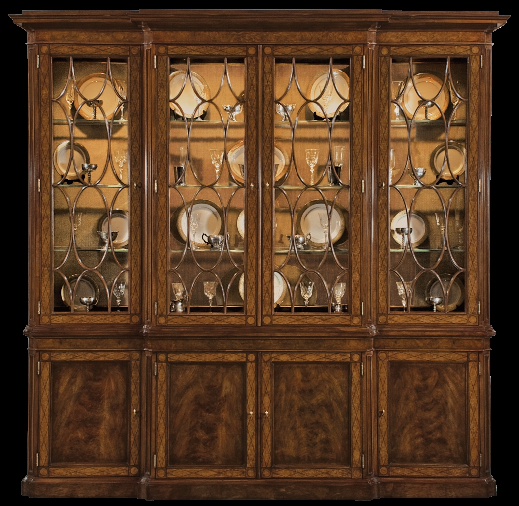 Walnut China Cabinet American Made Furniture And Furnishings