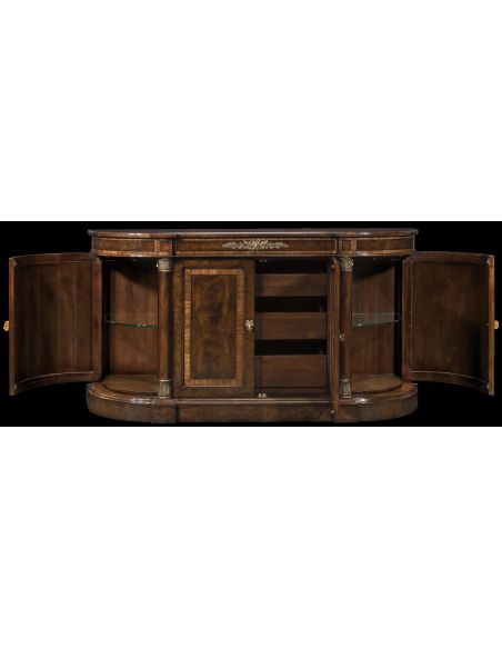 Breakfronts & China Cabinets 11 Warren buffet American made furniture and furnishings