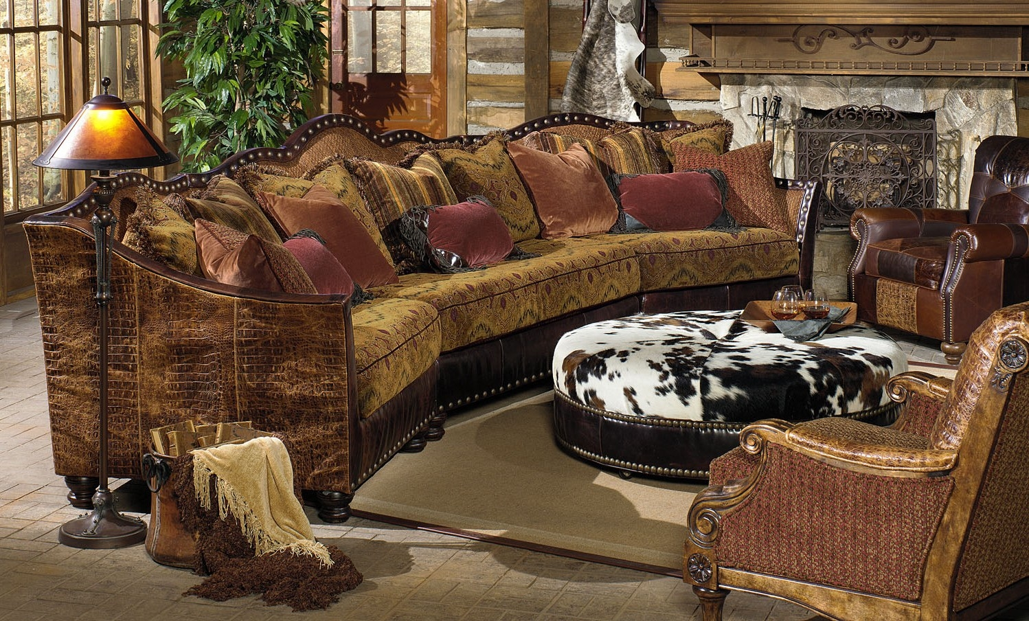 Luxury Leather U0026 Upholstered Furniture 01 Western Furniture. Custom  Sectional Sofa, Chairs, Hair