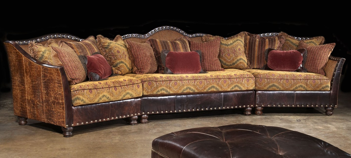 01 Western Furniture. Custom Sectional Sofa, Chairs, Hair