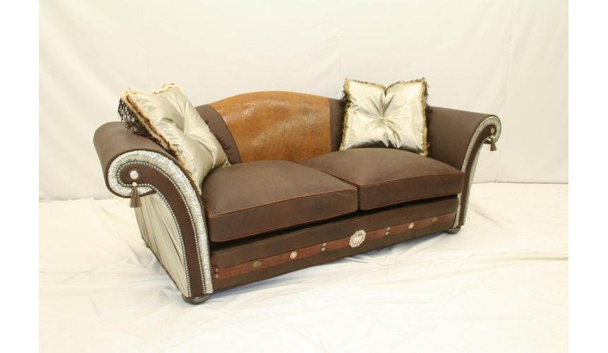 SOFA, COUCH & LOVESEAT Western Furniture Cool Custom Leather Sofas