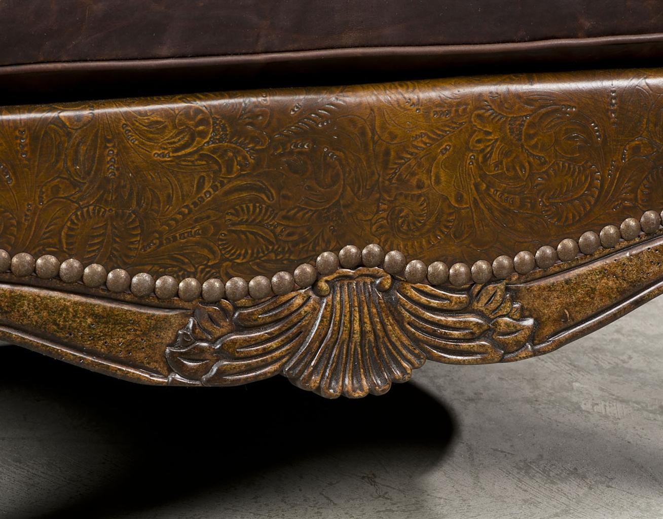 Western Rustic Luxury Hair Hide Chair. 49