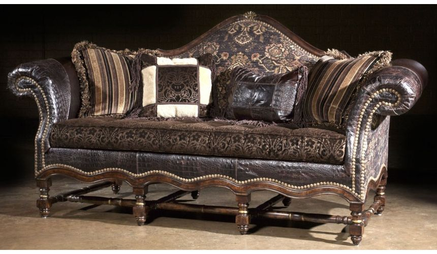 SOFA, COUCH & LOVESEAT Western style furniture luxury furniture