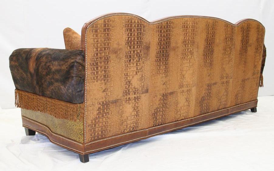 Western Style Sofa, Leather Sofa