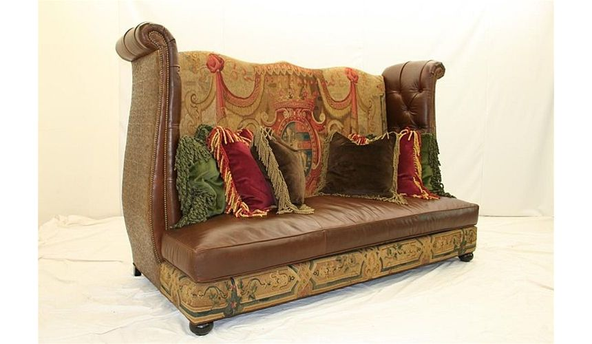 SOFA, COUCH & LOVESEAT Wild boys tapestry sofa unique high style furniture