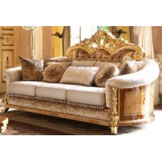 1 Unique and lavish sofa from our exclusive empire collection.