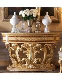Demilune console table. From our exclusive empire collection.