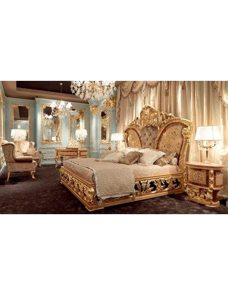 BEDS - Queen, King & California King Sizes Furniture Masterpiece Collection, Master bed 4665