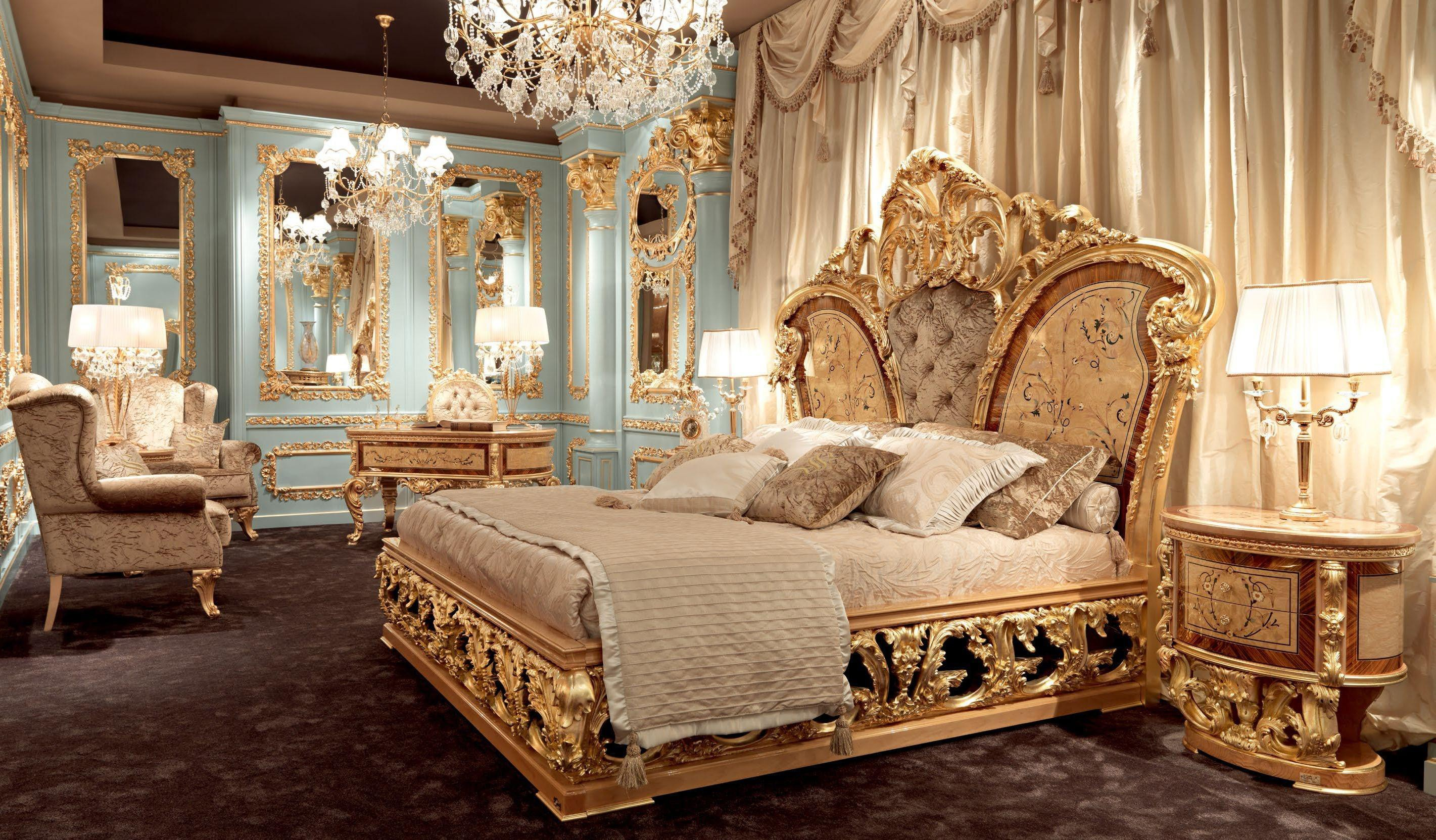 Merveilleux Queen And King Sized Beds Furniture Masterpiece Collection, Master Bed 4665
