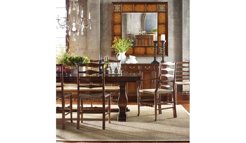 Dining Tables Dining room sets, Walnut dining table, self storing fold out leaves
