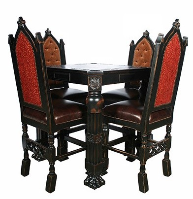 Home Bar Furniture Gothic Style Pub Bar Stool