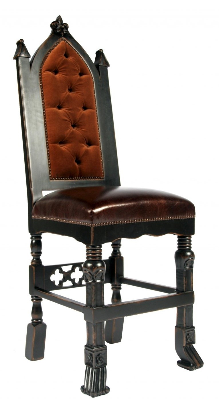 Gothic furniture chair - Gothic Pub Bar Stool
