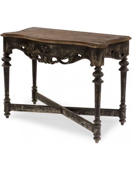 Square & Rectangular Side Tables Ornate Oak Table