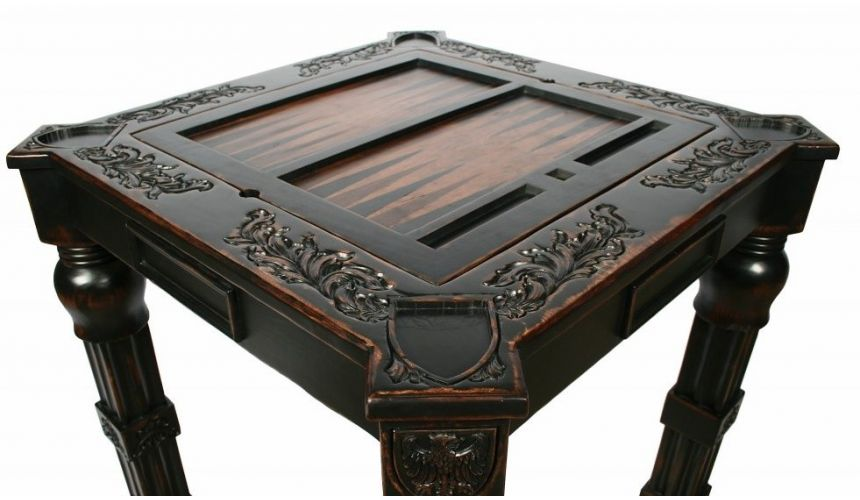 Game Card Tables & Game Chairs Gothic game table