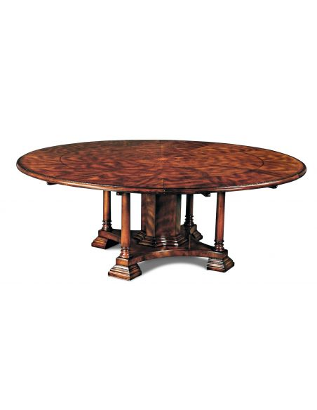 Dining Tables 12 Luxury round dining table.