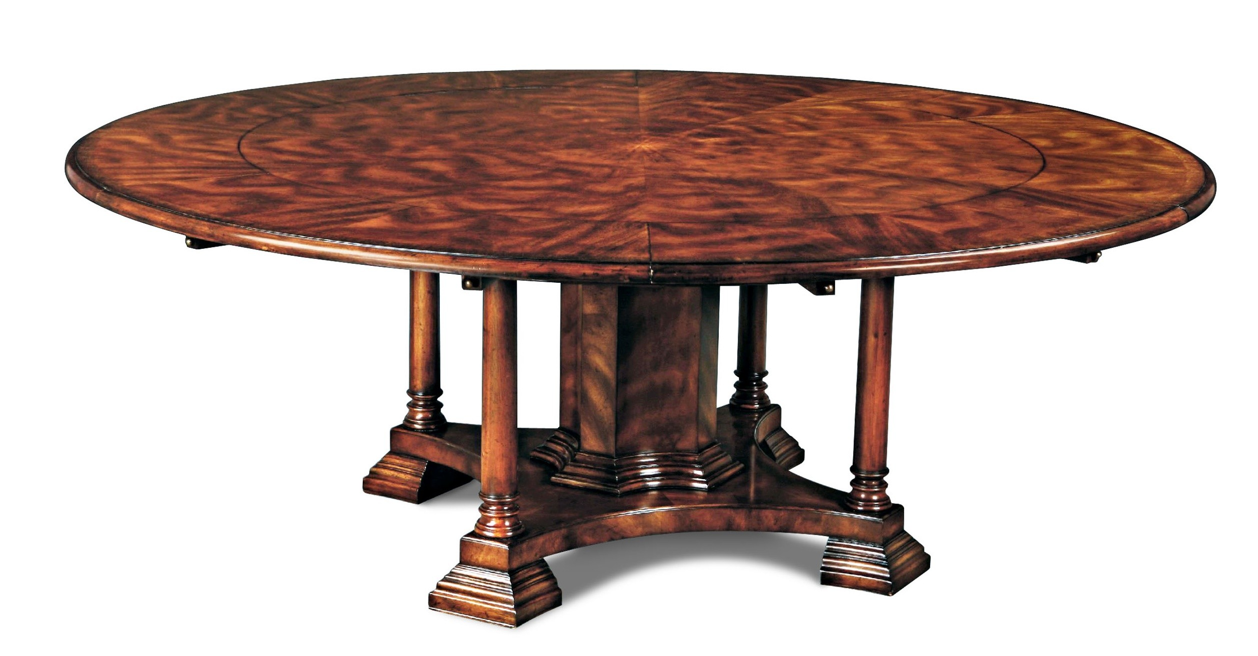 12 luxury round dining table for Luxury dinner table