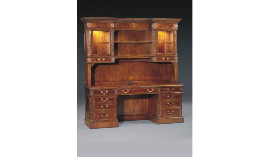 Bookcases Home office Furniture Credenza Hutch