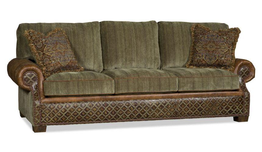 SOFA, COUCH & LOVESEAT Comfy green goddess sofa
