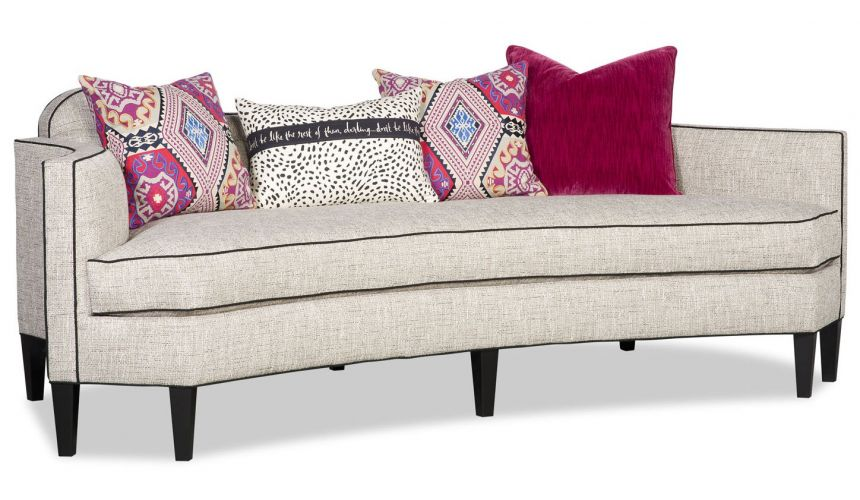 SOFA, COUCH & LOVESEAT Go wild with this sexy low back modern style sofa