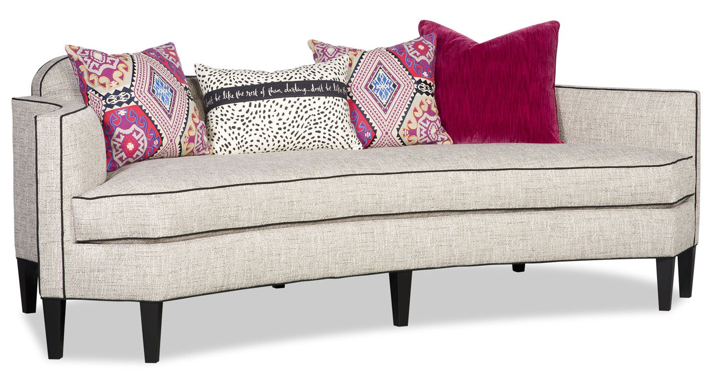 SOFA, COUCH U0026 LOVESEAT Go Wild With This Sexy Low Back Modern Style Sofa