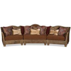 Grand three piece western style sectional