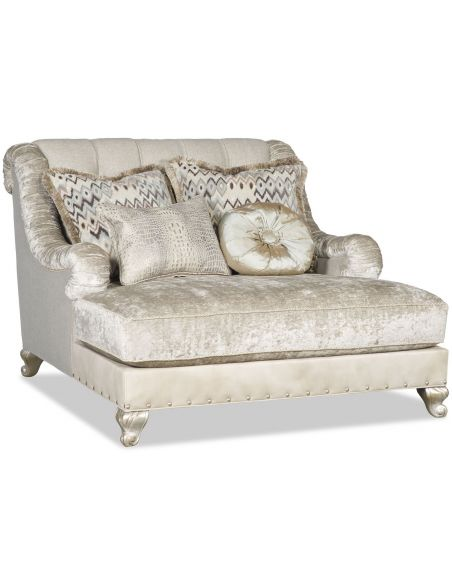 SETTEES, CHAISE, BENCHES Grand extra large chaise