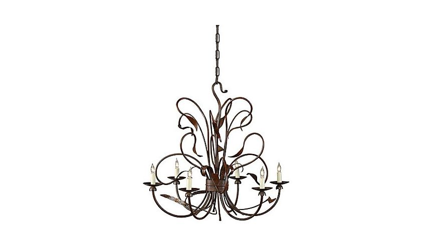 Lighting Intricate Designed Iron Chandelier