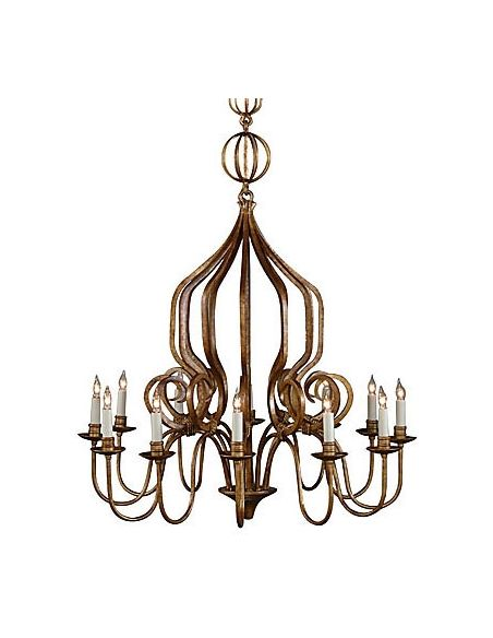 Lighting Hand Hammered Iron Chandelier